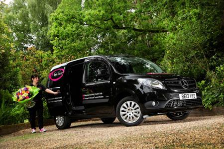 Mercedes-Benz Citan adds to flower power