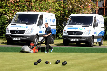 Mercedes-Benz Sprinters go green for Fairways Group