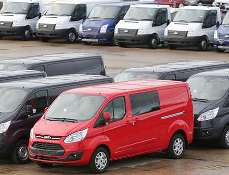 Six of Ford's final Southampton-built Transits will benefit charities and local communities