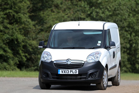 Vauxhall Combo Crew Van packs in crew and cargo