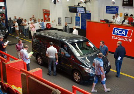Used van values remain well ahead year on year