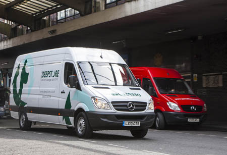 Deepstore's new Mercedes-Benz Sprinters are going overground