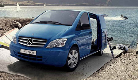 Rock-solid Mercedes-Benz Vito Dualiner Sport oozes class