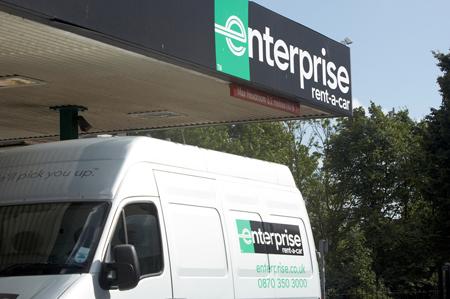 Van_outside_Enterprise_branch