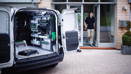 New Van Racking System Can Cut Your Transport Costs