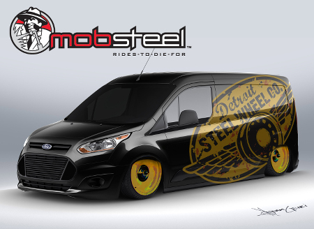 Stunning Customised Ford Transit Connect Let Loose