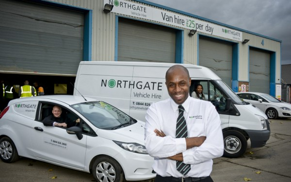 Northgate van rental