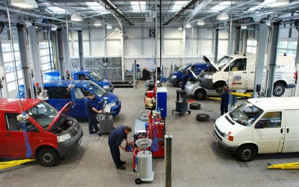 VW_Van_service