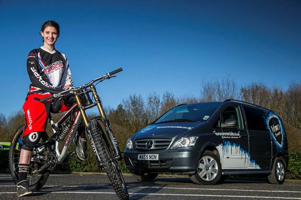 Mercedes Vito In Mountain Bike Sponsorship Deal Business