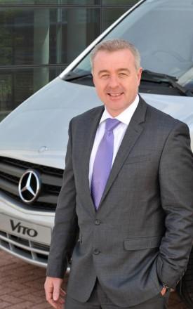 Steve Bridge managing director Mercedes-Benz Vans