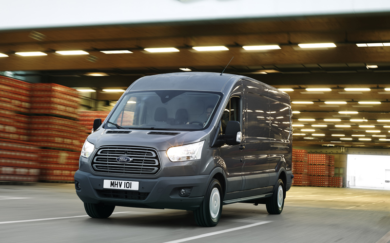 all new ford transit van review the big one arrives. Black Bedroom Furniture Sets. Home Design Ideas