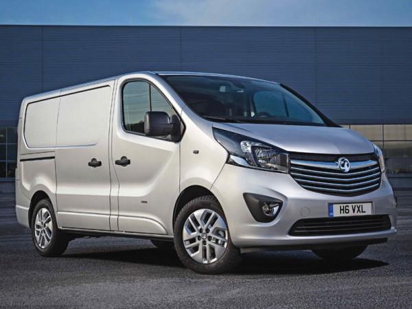 All new Vauxhall Vivaro
