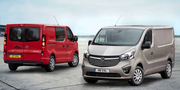 All new Vivaro front and rear views
