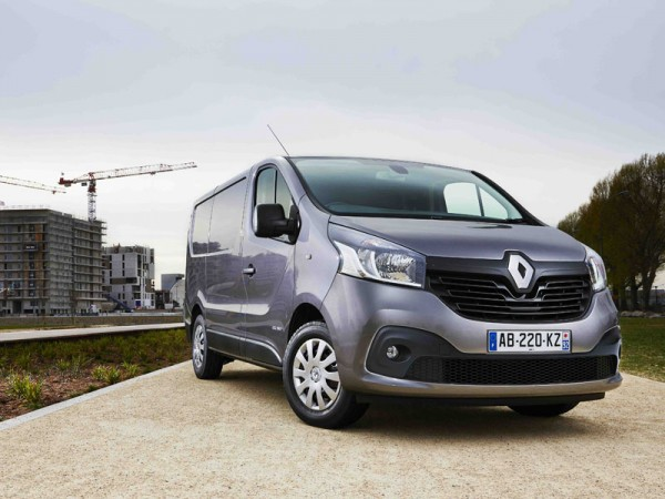 All new Renault Trafic