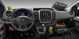 All new Renault Trafic interior
