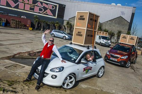 Vauxhall Art Car Boot Fair