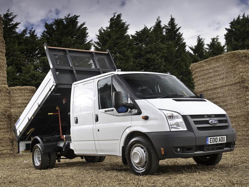 The Ford Transit Tipper van