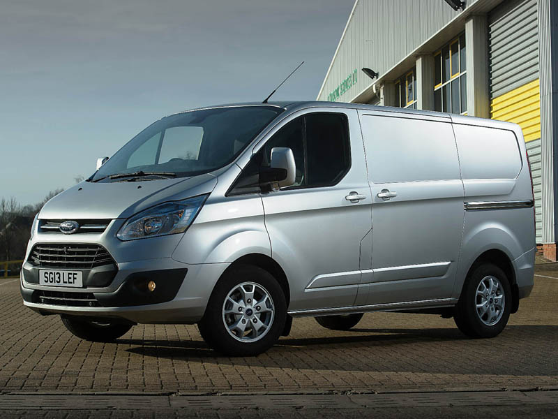 The Transit Custom comes in short and long wheelbase forms - very refined and economical
