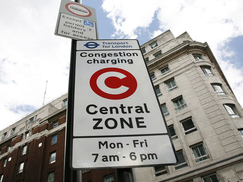 Congestion Charge Rental Car