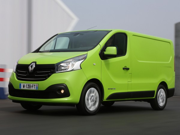 Renault, Trafic, green