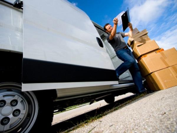 Van, delivery