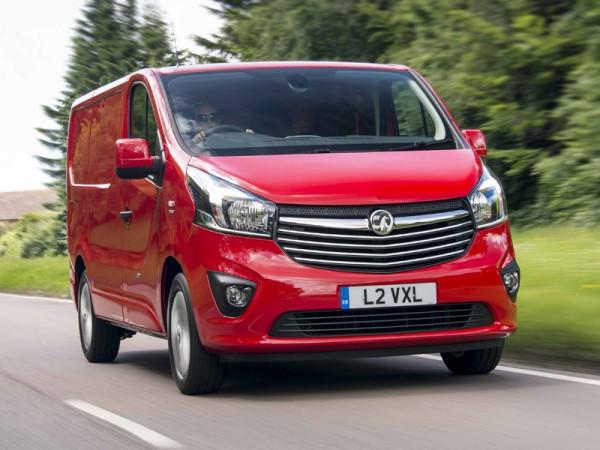 Vauxhall, Vivaro, front