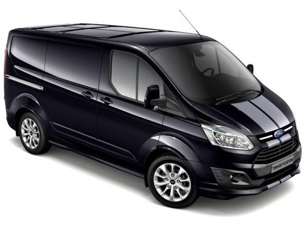 The latest Ford Transit Custom