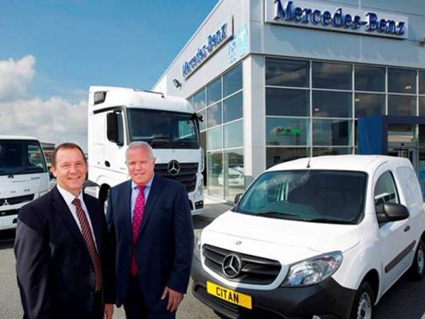 Mercedes, van, truck, dealer, north west