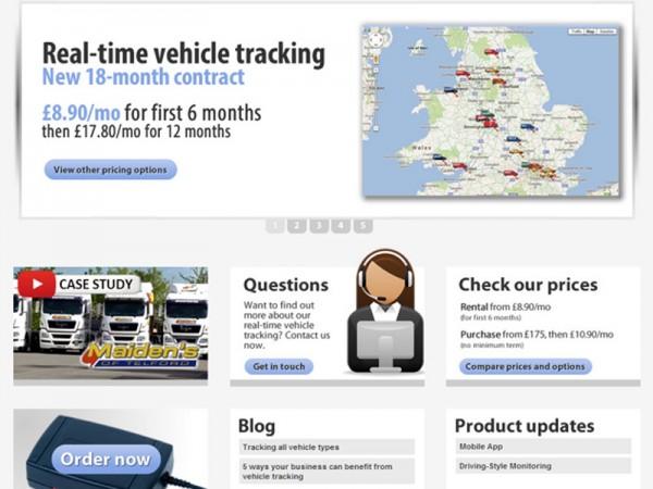 new, quartix, website