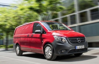 New, Mercedes, Vito, moving