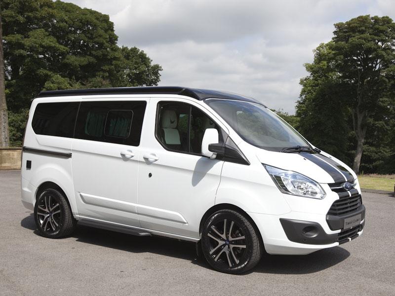 Ford Transit Custom turns campervan - Business Vans