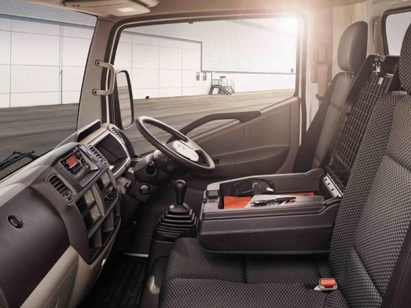 Nissan, cabstar, interior
