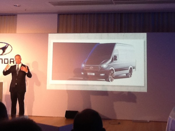 Hyundai, H350, commercial, reveal, germany