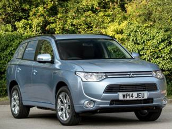 Mitsubishi, Outlander, PHEV, commercial, front