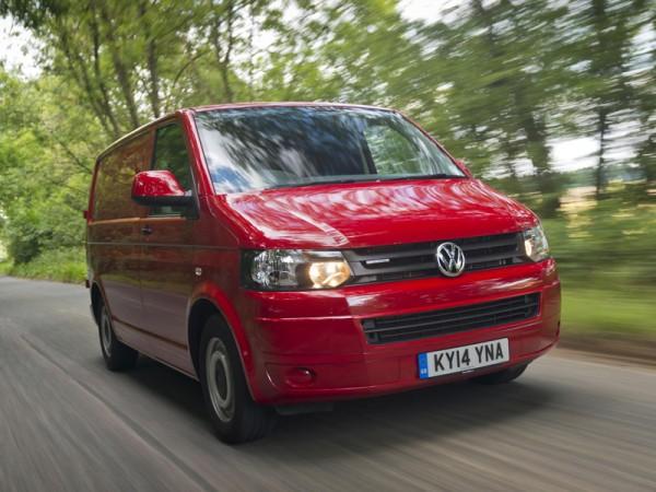 Volkswagen, Transporter, van, moving