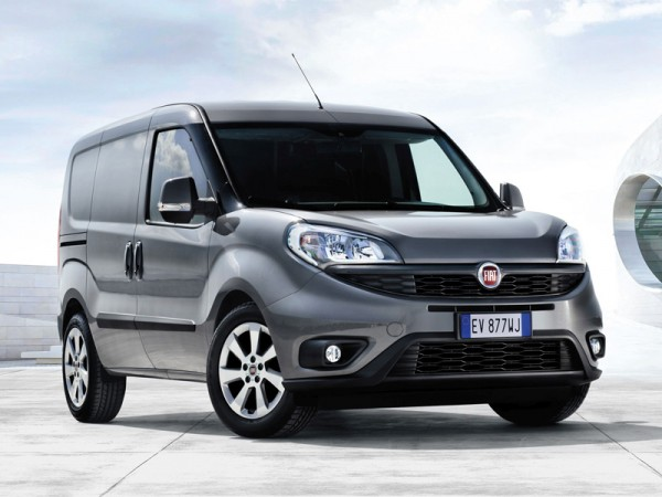 Fiat, Doblo, car, front, new