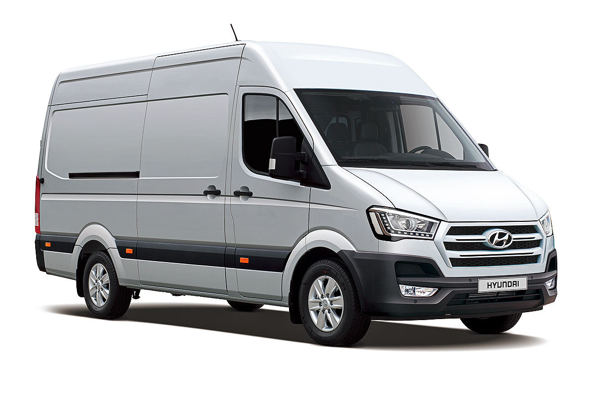 Hyundai To Shake Up Market With H350 Business Vans