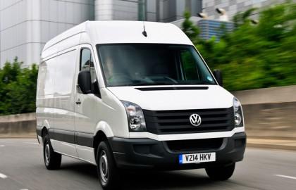 Volkswagen, Crafter, at, speed