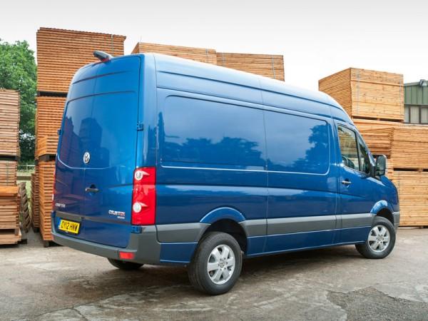 Volkswagen, Crafter, rear, van
