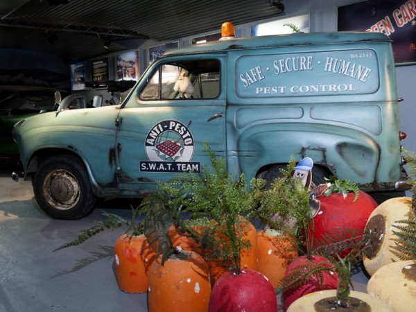 Wallace and Gromit Anti-Pesto Van