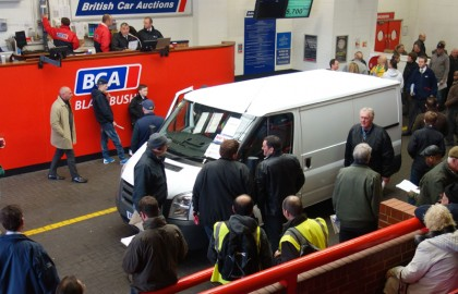 BCA, Van, Auction