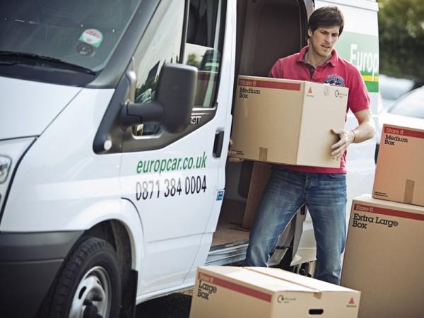 Europcar, van, rental