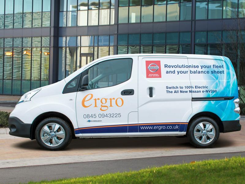 Nissan S Electric Van For Kent Business Business Vans