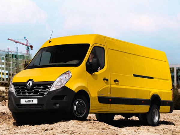 Renault, Master, new, front, three, quarter
