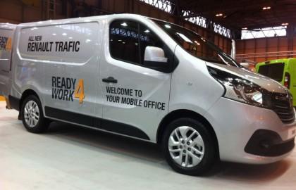 Renault, Trafic, Ready4work, CV , show
