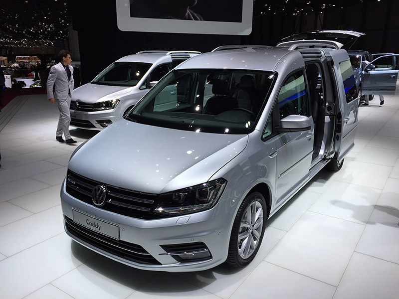 caddy maxi debuts at geneva business vans. Black Bedroom Furniture Sets. Home Design Ideas