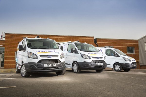BT called Ford to order 1000 new vans