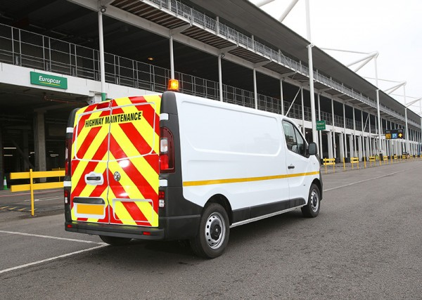 Hi Vis Vans For Hire From Europcar Business Vans