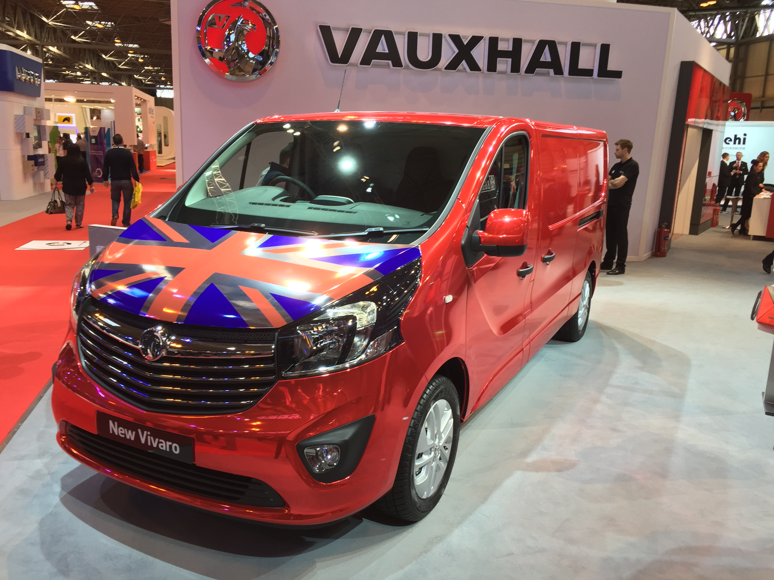 cv show archives business vans vauxhall announces in house signwriting service 14th 2015 cv show 2015