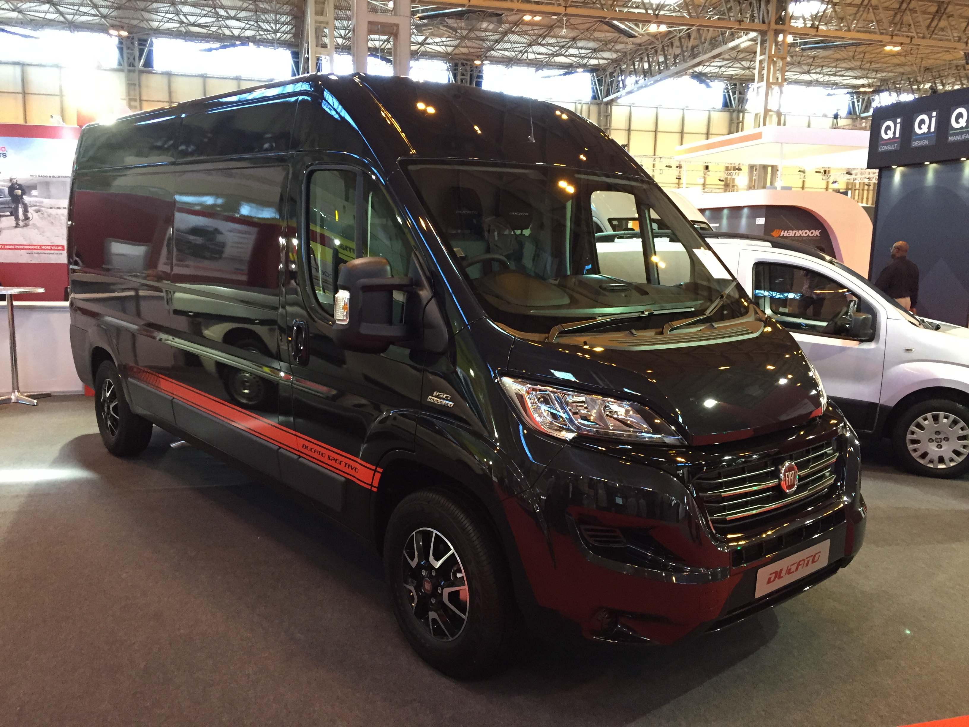 sharp looking fiat ducato sportivo trim revealed business vans. Black Bedroom Furniture Sets. Home Design Ideas